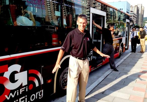 The 5G WiFi bus